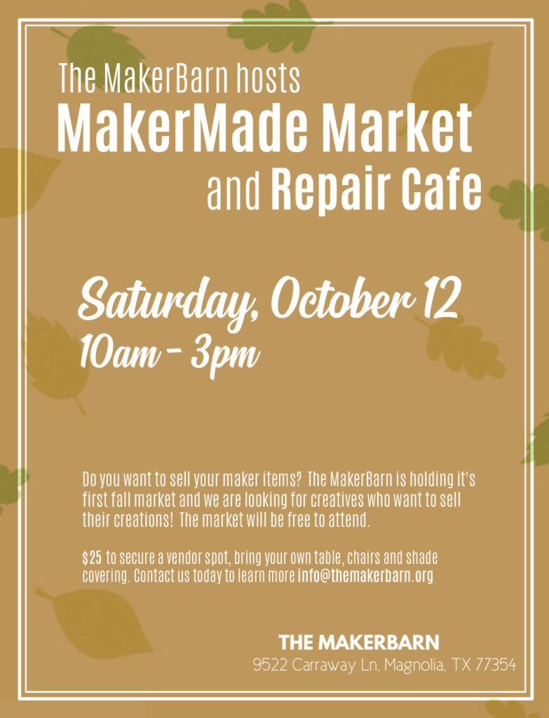 MajerMade Market and Repair Cafe