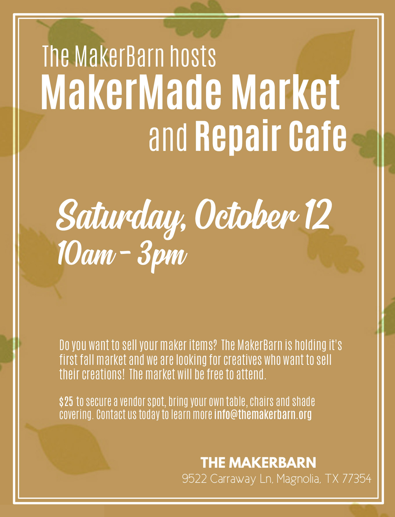 MakerMade Market and Repair Cafe